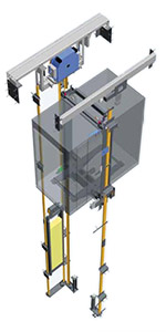 Устройство лифта Silens-Pro Vanguard 1 (IMEM)