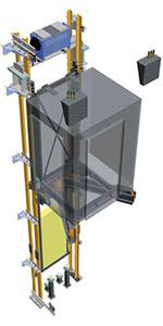 Устройство лифта Silens-Pro Vanguard 3 (IMEM)