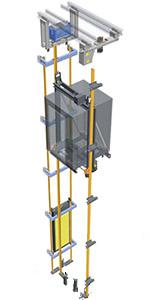 Устройство лифта Silens-Pro Vanguard 4 (IMEM)