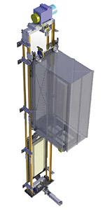 Устройство лифта Silens-Pro Vanguard 2 (IMEM)